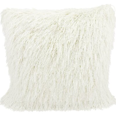 Clayburgh Throw Pillow Color: White