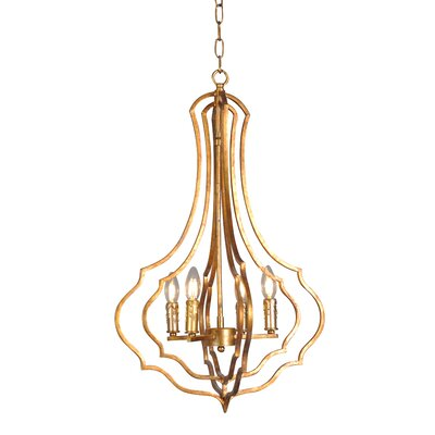 Jacobs 4-Light Foyer Pendant