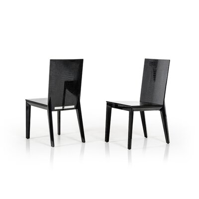 Janine Lacquer Side Chair