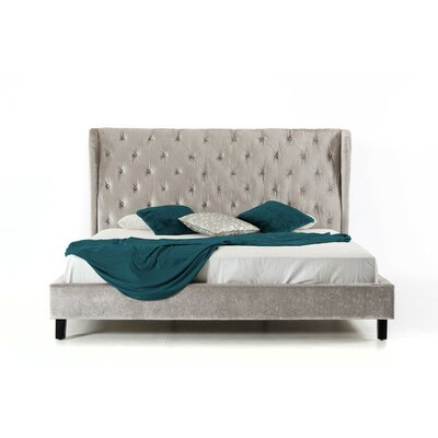 Jayleen Queen Upholstered Platform Bed