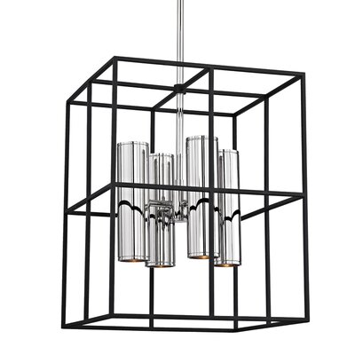 Veronica 8-Light Foyer Pendant Finish: Polished Nickel