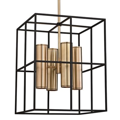 Veronica 8-Light Foyer Pendant Finish: Aged Brass
