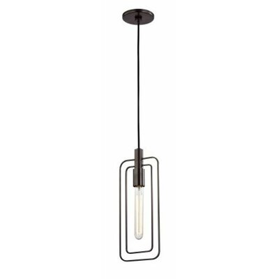 Watermill 1-Light Pendant Finish: Old Bronze