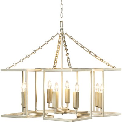 Zubair 8-Light Foyer Pendant