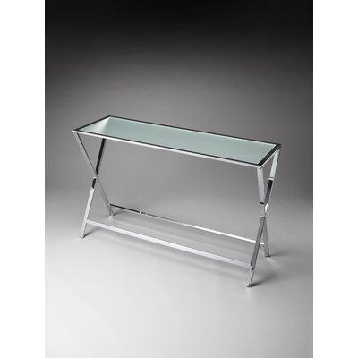 Ruelas Console Table Finish: Frosted