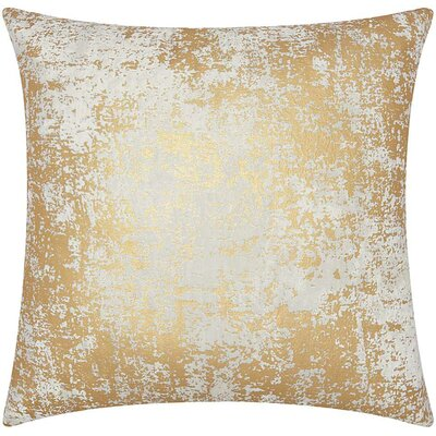 Chiron Throw Pillow Color: Gold