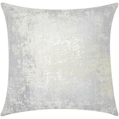 Chiron Throw Pillow Color: Silver