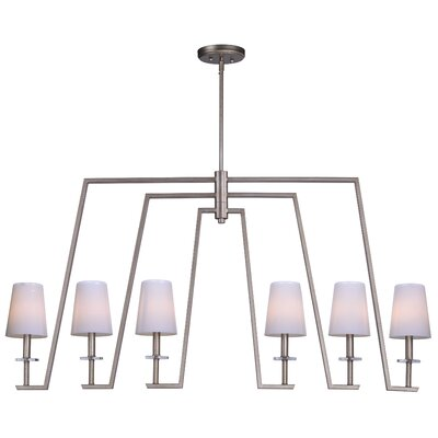 Villers 6-Light Linear Kitchen Island Pendant