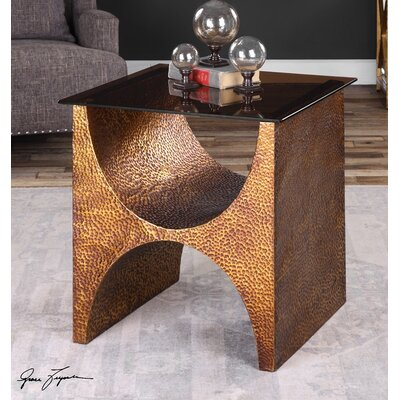 Pasolini Copper End Table