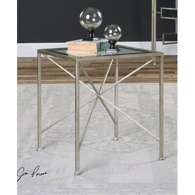 Ciel Antiqued End Table