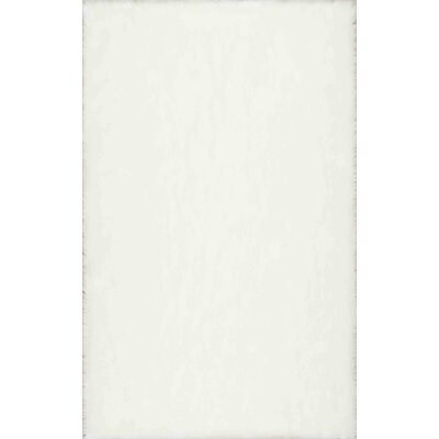 Walmer White Area Rug Rug Size: 76 x 96