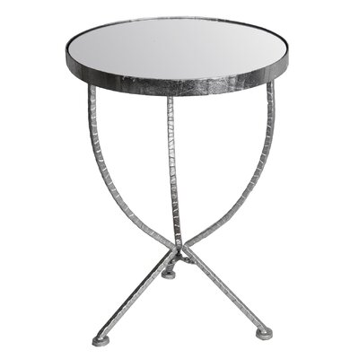 Waltham Cross Iron & Glass Stand End Table