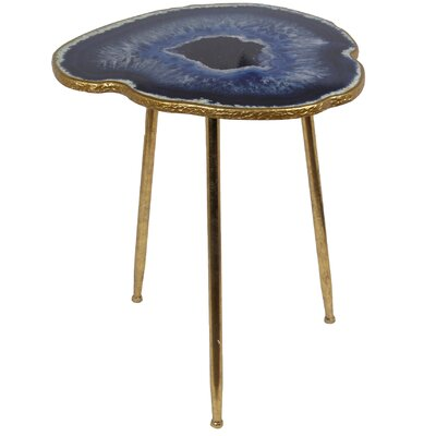 Dia End Table Finish: Gold Leaf