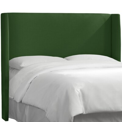 Dion Wingback Headboard Size: California King, Upholstery: Klein Emerald