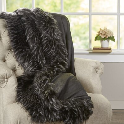 Mastroianni Grizzly Faux Fur Throw