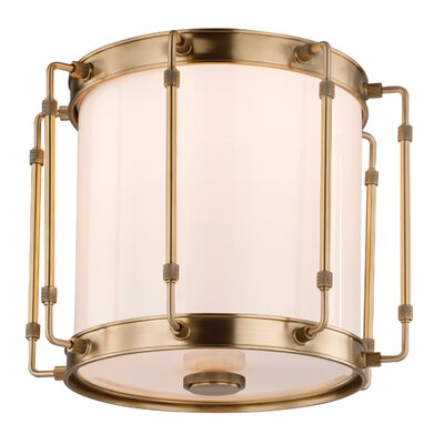 Watchet 1-Light Flush Mount Finish: Polished Nickel