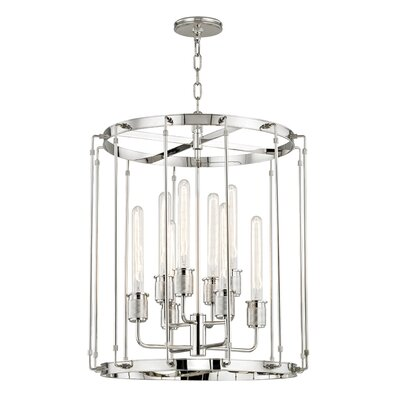 Watchet 8-Light Pendant Finish: Polished Nickel