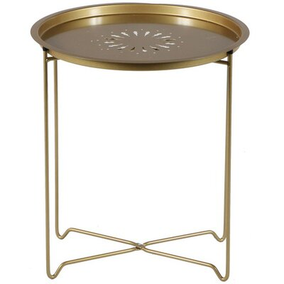 Derringer End Table Color: Gold