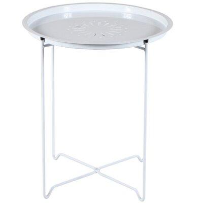 Derringer End Table Color: White