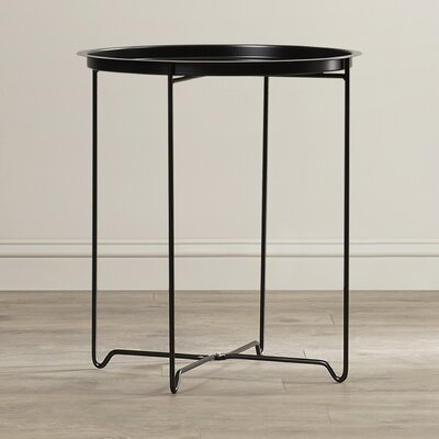 Derringer End Table Color: Black
