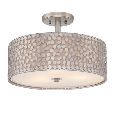 Whitby 3-Light Semi Flush Mount