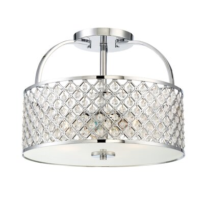 Weston 3-Light Semi Flush Mount