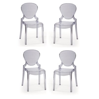 Ramet Side Chair Finish: Clear