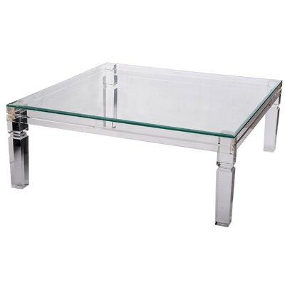 Romford Acrylic Clear End Table