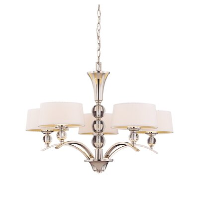 Knisley 5-Light Drum Chandelier