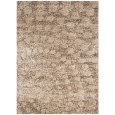 Woodbridge Light Brown Area Rug Rug Size: 4 x 57