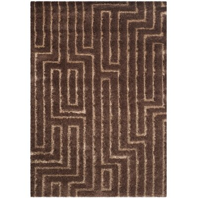 Woodstock Dark Brown Area Rug