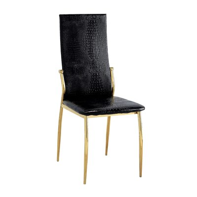 Winchelsea Parsons Chair Color: Black