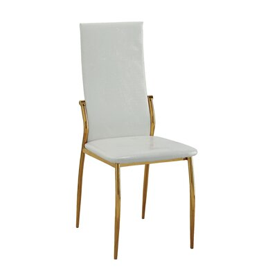 Winchelsea Parsons Chair Color: White