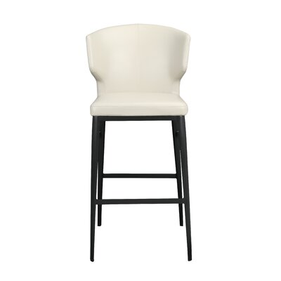 Wimbledon 30 Bar Stool Upholstery: Beige
