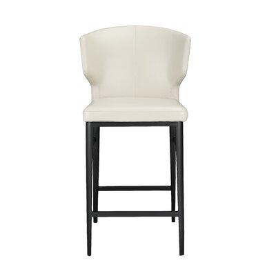 Wimbledon 26 Bar Stool Upholstery: Beige