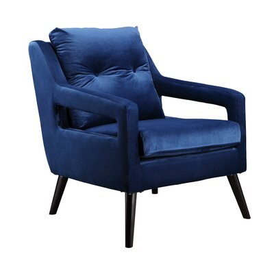 Withernsea Armchair Color: Blue