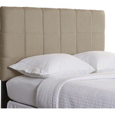 Muni Upholstered Panel Headboard Size: King