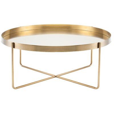 Roseman Coffee Table Color: Gold