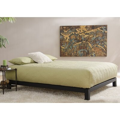 Hasse Glam Platform Bed Size: Full, Color: Black