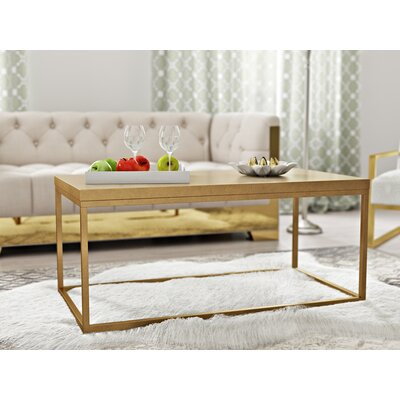 Kashton Coffee Table Color: Gold