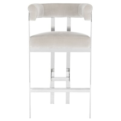 Avillion 30 Bar Stool Seat Color: Almond