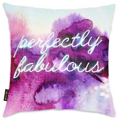 Princes Risborough White; Purple Throw Pillow