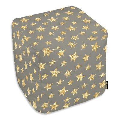 Corina Gold Stars Ottoman