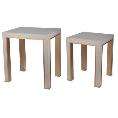 Rochester 2 Piece Nesting Table Set