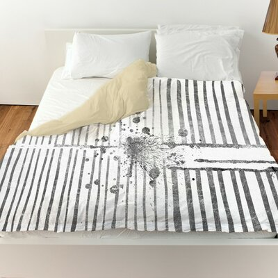 Pudsey Love Force Field Duvet Cover Size: Queen