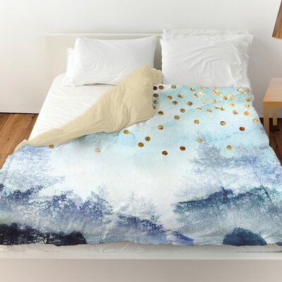 Pudsey Summer Mist Collage Duvet Cover Size: Queen