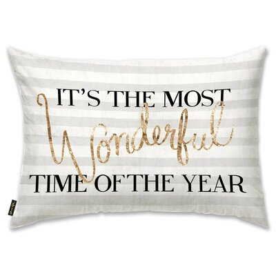 Wonderful Time Lumbar Pillow