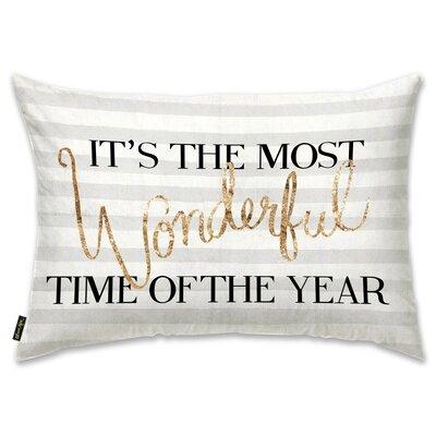 Wonderful Time Lumbar Pillow