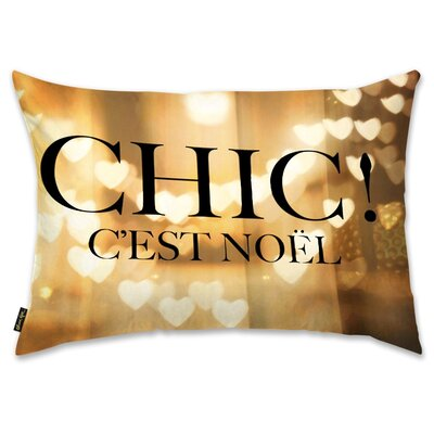 Chic Noel Lumbar Pillow