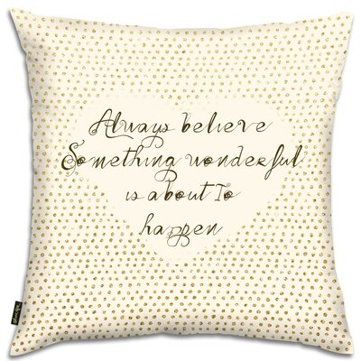 Something Wonderful Throw Pillow
